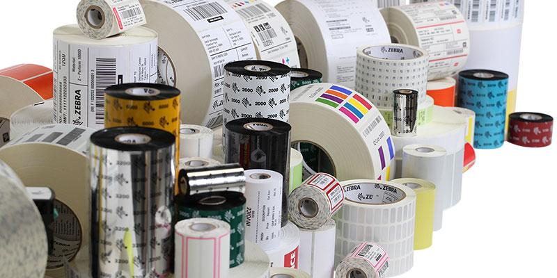 Label Rolls Stickers & Ribbons