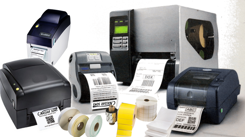 Barcode printers & Labellers